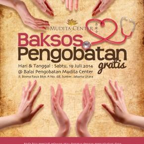 Bakti Sosial Pengobatan Gratis, 19 Juli 2014