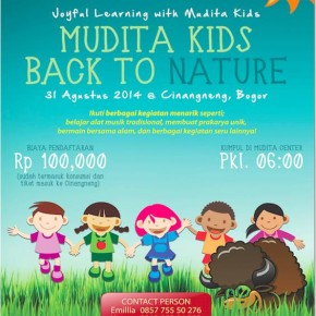 Joyful Learning With Mudita Kids, Back To Nature 31 Aug 2014