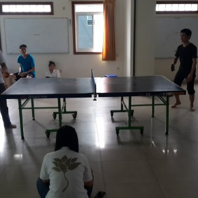 Kegiatan Olah Raga Mudita - Ping Pong