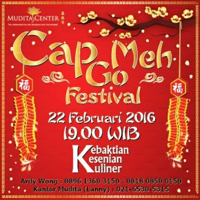 Acara Cap Go Meh Mudita Center