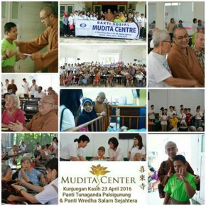 Baksos Mudita Center 23 April 2016